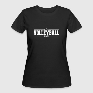 volleyball is life 1 - Women's 50/50 T-Shirt