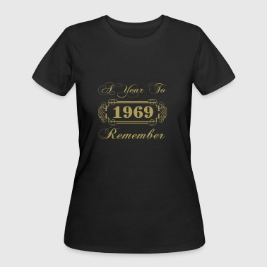 1969 A Year To Remember - Women's 50/50 T-Shirt