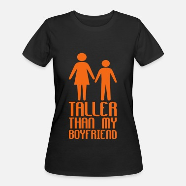 Taller Taller Girlfriend - Women's 50/50 T-Shirt