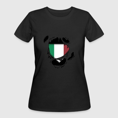 Proud Italian flag - Awesome Italian flag t - sh - Women's 50/50 T-Shirt
