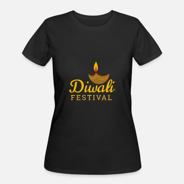 Diwali Diwali Festival Candle Light - Gift Idea - Women's 50/50 T-Shirt
