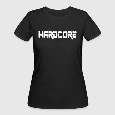 Q Dance HARDCORE ( white Design) - Women's 50/50 T-Shirt