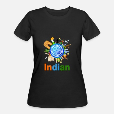 Indians Funny INDIAN - Women's 50/50 T-Shirt
