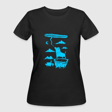 awooolf growl - Women's 50/50 T-Shirt