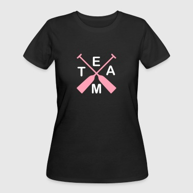 Team Dragonboat 2c - Women's 50/50 T-Shirt