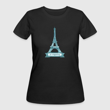 Tower Architecture Eiffel Tower - Women's 50/50 T-Shirt