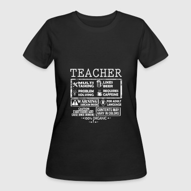 Teacher - Teacher is a multi tasking job - Women's 50/50 T-Shirt