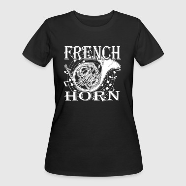 LADYBUG FRENCH HORN SHIRT - Women's 50/50 T-Shirt