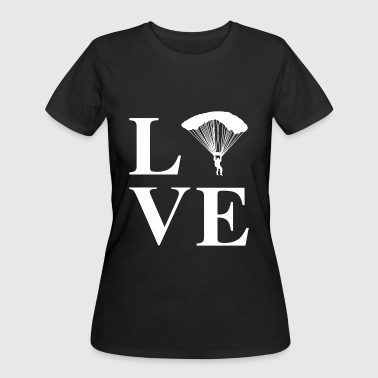 Skydiving Mom Skydiving - Love Skydiving Skydive - Women's 50/50 T-Shirt
