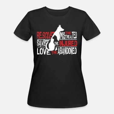 Abandon It Was Love Love The Abandoned T Shirt, Rescue T Shirt - Women's 50/50 T-Shirt
