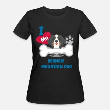Bernese Mountain Dogs Bernese Mountain Dog - Women's 50/50 T-Shirt