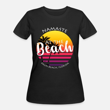 Miami Souvenir Palm Beach Fl Souvenir Design - Women's 50/50 T-Shirt