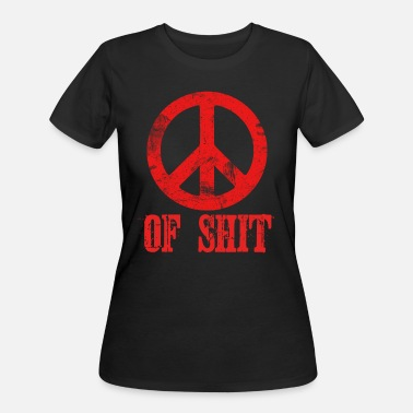 Best Design T-shit Spread the Love with this Peace of mind Tshirt Design Peace of shit - Women's 50/50 T-Shirt