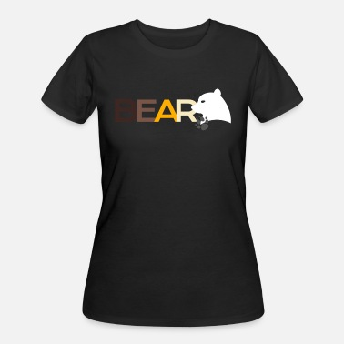 Growling Bear Growl LGBT Bear Growling CSD Gay Pride - Women's 50/50 T-Shirt