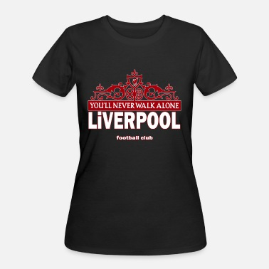 Liverpool This Is Anfield Liverpool never walk alone - Women's 50/50 T-Shirt