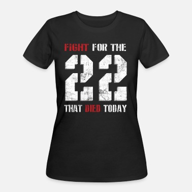 Operation Iraqi Freedom Fight For The 22 - Women's 50/50 T-Shirt