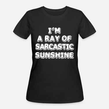 Sunshine Funny Humor Funny Sunshine - I'm A Ray Of Sarcastic - Humor - Women's 50/50 T-Shirt
