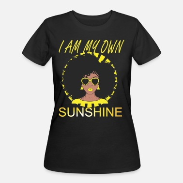 Black Empowerment My Own Sunshine - Women's 50/50 T-Shirt