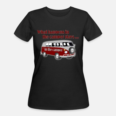 Sex Camper What happens in the camper - Women's 50/50 T-Shirt