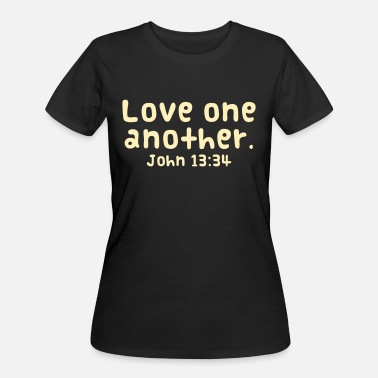 Another Love One Another - Women's 50/50 T-Shirt
