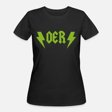 Open Education Week OER Rocks (Green) - Women's 50/50 T-Shirt