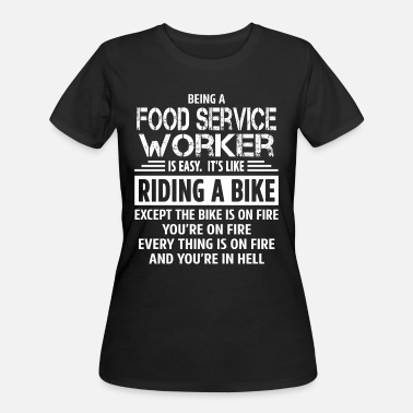 Service Food Service Worker - Women's 50/50 T-Shirt