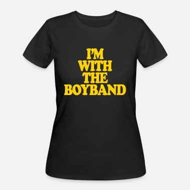 Boy Band I'm With The Boy Band - Women's 50/50 T-Shirt