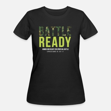 Battle Christian Design - Women's 50/50 T-Shirt