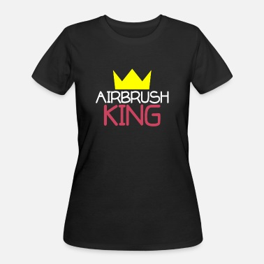 Airbrush Airbrush King - Women's 50/50 T-Shirt