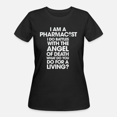 No Angel Beyonce - I Am A Pharmacist I Do Battles With The Angel - Women's 50/50 T-Shirt