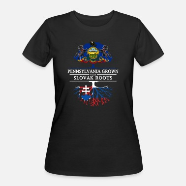 Slovak Pennsylvania Grown with Slovak Roots - Women's 50/50 T-Shirt
