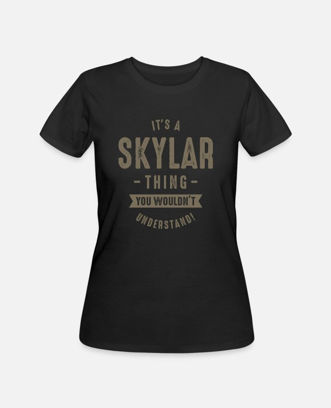 Heart T-Shirts - Skylar_shirt - Women's 50/50 T-Shirt black