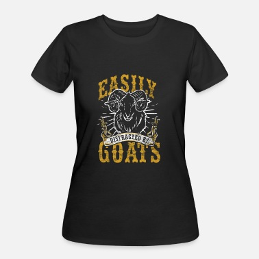Goatee Goat Farm Animal Goats Goatee Farmer Horns Gift - Women's 50/50 T-Shirt
