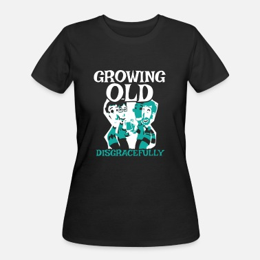Ska Punk Growing Old Gift for Old Man Punk Rockers, Pensioners or Senior Citizens - Women's 50/50 T-Shirt