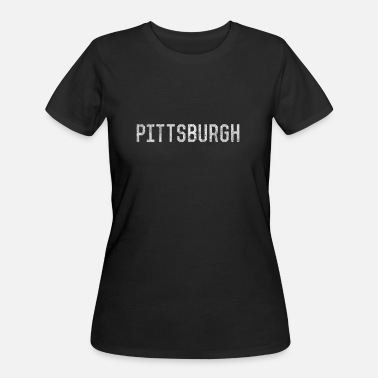 Pittsburgh Cool Vintage Pittsburgh Pennsylvania - Women's 50/50 T-Shirt