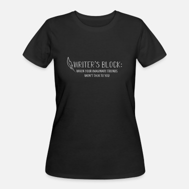 Writers Block Writers Block - Women's 50/50 T-Shirt