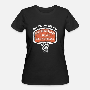 Awesome Sports Basketball Awesome Basketballer Hobby Sport - Women's 50/50 T-Shirt