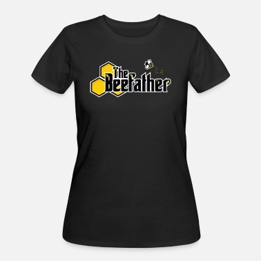 Honey Honeycomb The Beefather - Bee Honey Beekeeper Honeycombs - Women's 50/50 T-Shirt
