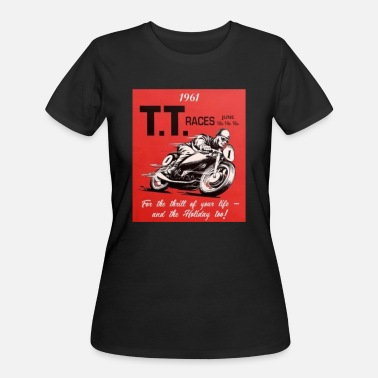 Isle Of Man Tt Isle of Man TT Motobike - Women's 50/50 T-Shirt