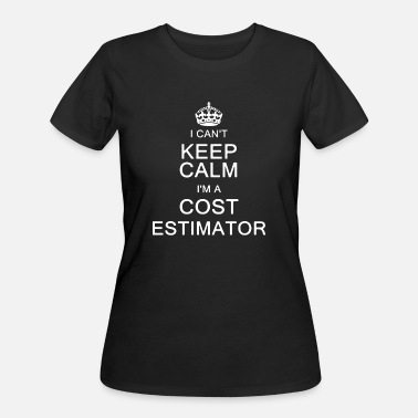 Keep Clam I Am A Cost Estimator Shirt - Women's 50/50 T-Shirt