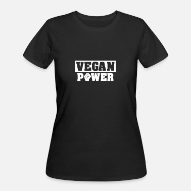 Vegan Power Vegan Power | Vegan Shirts - Women's 50/50 T-Shirt