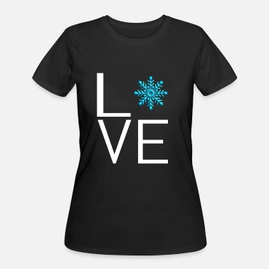 Snowballs Snowball Fight - Women's 50/50 T-Shirt