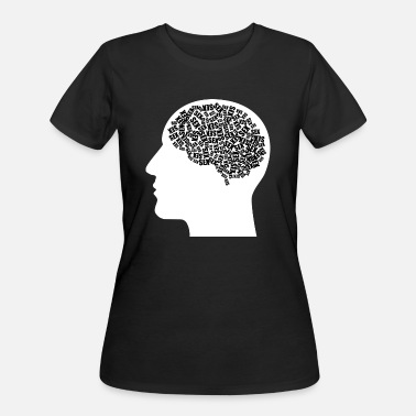 Sex Sayings sex brain man men penis - Women's 50/50 T-Shirt