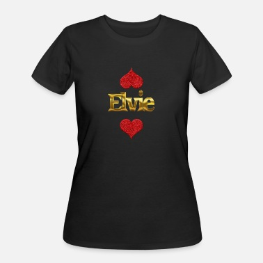 Elvis Design & Elvie - Women's 50/50 T-Shirt