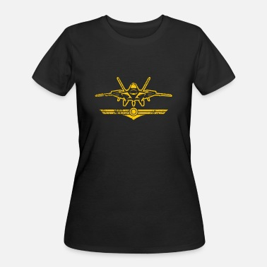 Fighter Jets Pilot fighter jet military plane fighter pilot - Women's 50/50 T-Shirt