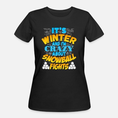 Snowball Fight Winter Snowball Fights - Women's 50/50 T-Shirt