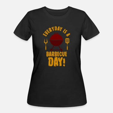 Grilled Meat BBQ meat grill day - Women's 50/50 T-Shirt
