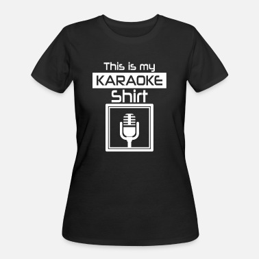 Song Writer Karaoke Gift for musicians song writers solists - Women's 50/50 T-Shirt