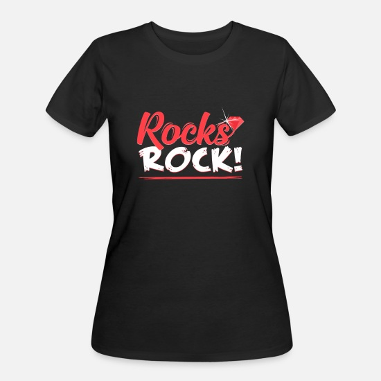 Jewelry T-Shirts - stone - Women's 50/50 T-Shirt black