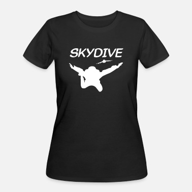 Free Fall Skydive Skydiver Free Fall Skydiving - Women's 50/50 T-Shirt